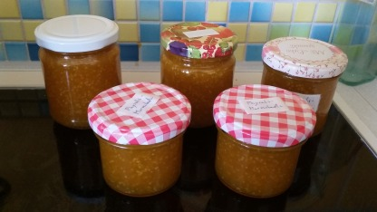 Nachher - leckeres Marmelade